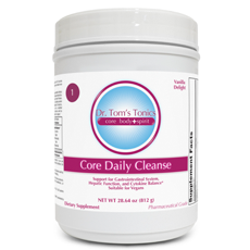 Dr. Tom's Tonics- Core Daily Cleanse Vanilla (812 grams - 14 servings)