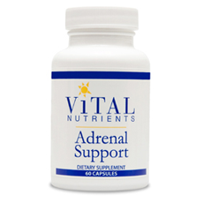 Vital Nutrients- Adrenal Support (60 vcaps)