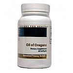 Designs for Health- Oil of Oregano 15mg (60 gels)
