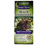 Gaia Herbs- Black Elderberry Nightime Syrup (3 oz)