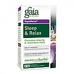 Gaia Herbs- Sleep & Relax (50 caps)