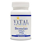 Vital Nutrients- Bromelain 375mg (60 caps)