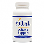 Vital Nutrients- Adrenal Support (120 vcaps)