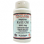 Protocol for Life Balance- Krill Oil 500mg Neptune NKO (60 gels)