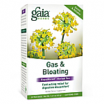 Gaia Herbs- Gas & Bloating Herbal Tea (16 bags)
