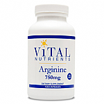 Vital Nutrients- Arginine 750mg (120 vcaps)