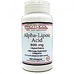 Protocol for Life Balance- Alpha Lipoic Acid 600mg (60 vcaps)
