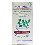 Vitanica- Yeast Arrest 14 Day Supp (14 suppositories)
