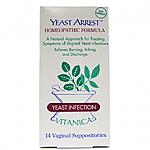 Vitanica- Yeast Arrest 14 Day Supp (14 suppositories)