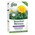 Gaia Herbs- Bronchial Wellness Herbal Tea (16) bags)